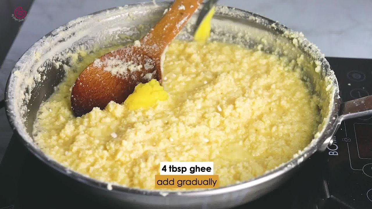 Image of the cooking step-1-8 for Indian Milk Cake (Alwar Ka Mawa)
