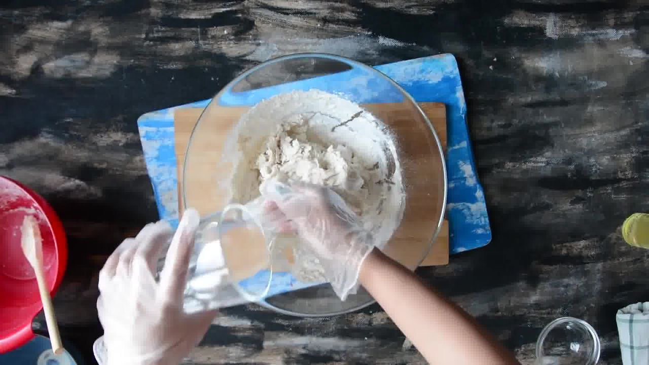 Image of the cooking step-2-4 for Paneer Stuffed Naan Recipe