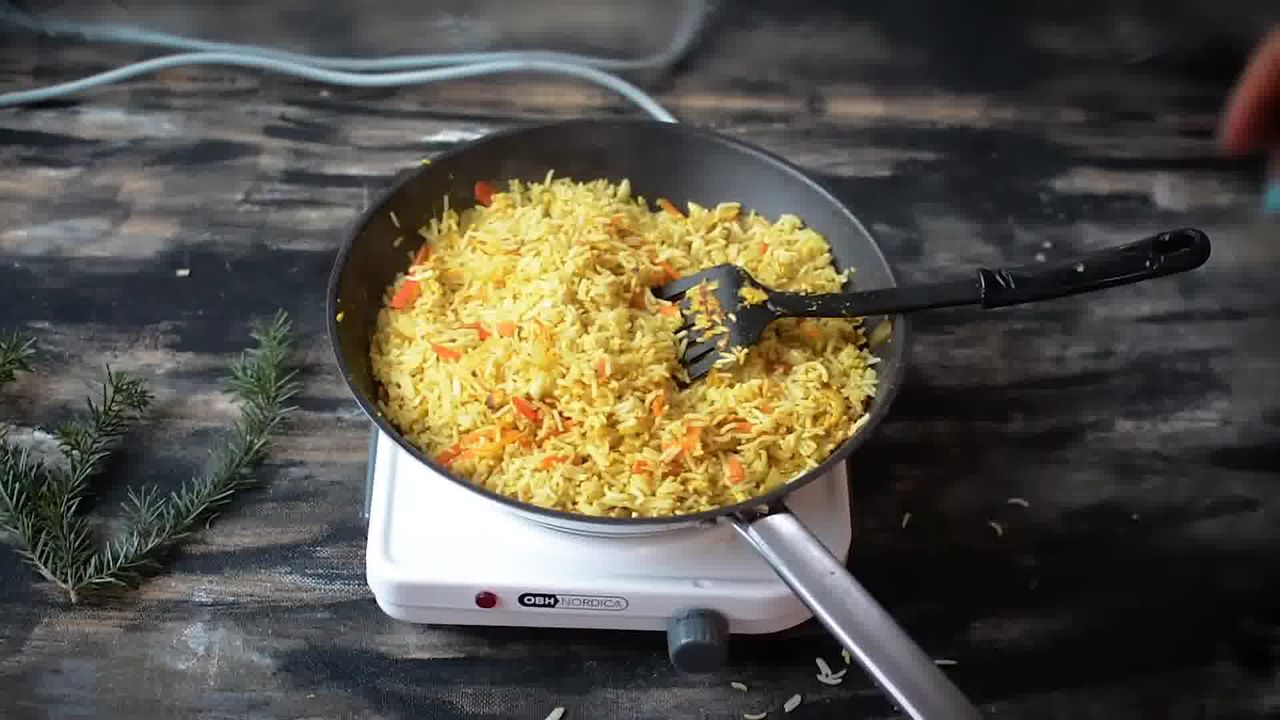 Image of the cooking step-2-12 for Indian Style Triple Egg Fried Rice Recipe