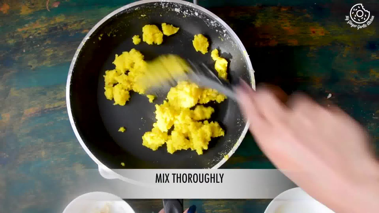 Image of the cooking step-2-2 for Instant Coconut Ladoo Recipe (Rose, Saffron, Cardamom)