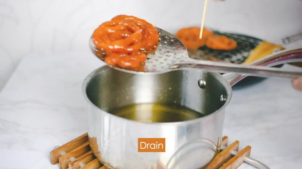 Image of the cooking step-3-7 for Jalebi recipe