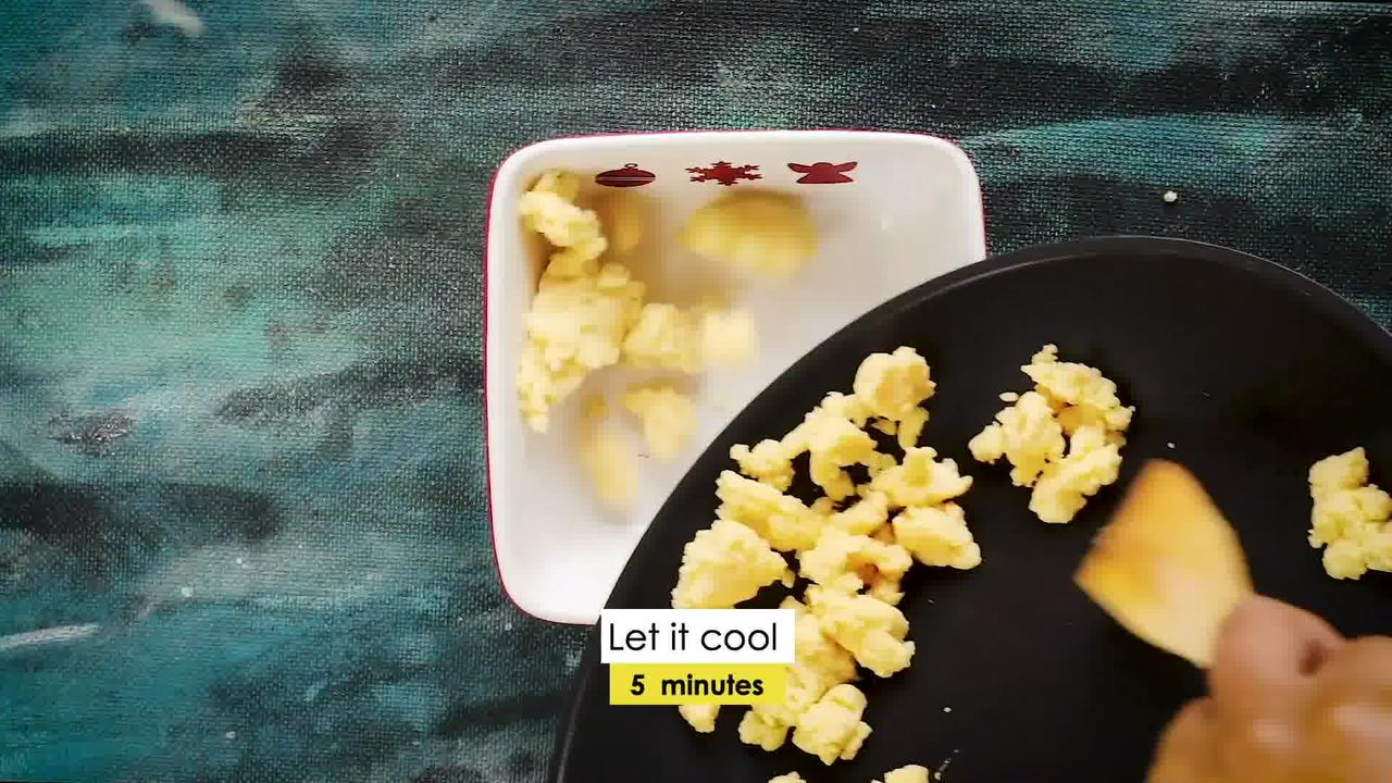 Image of the cooking step-1-2 for Instant Mawa Modak (Khoya Modak)