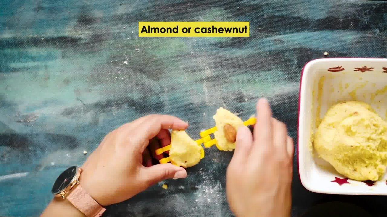 Image of the cooking step-2-3 for Instant Mawa Modak (Khoya Modak)