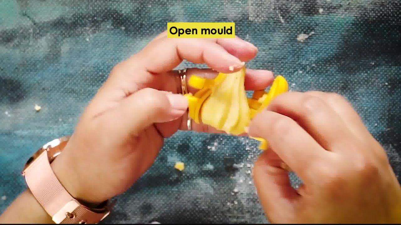 Image of the cooking step-2-6 for Instant Mawa Modak (Khoya Modak)