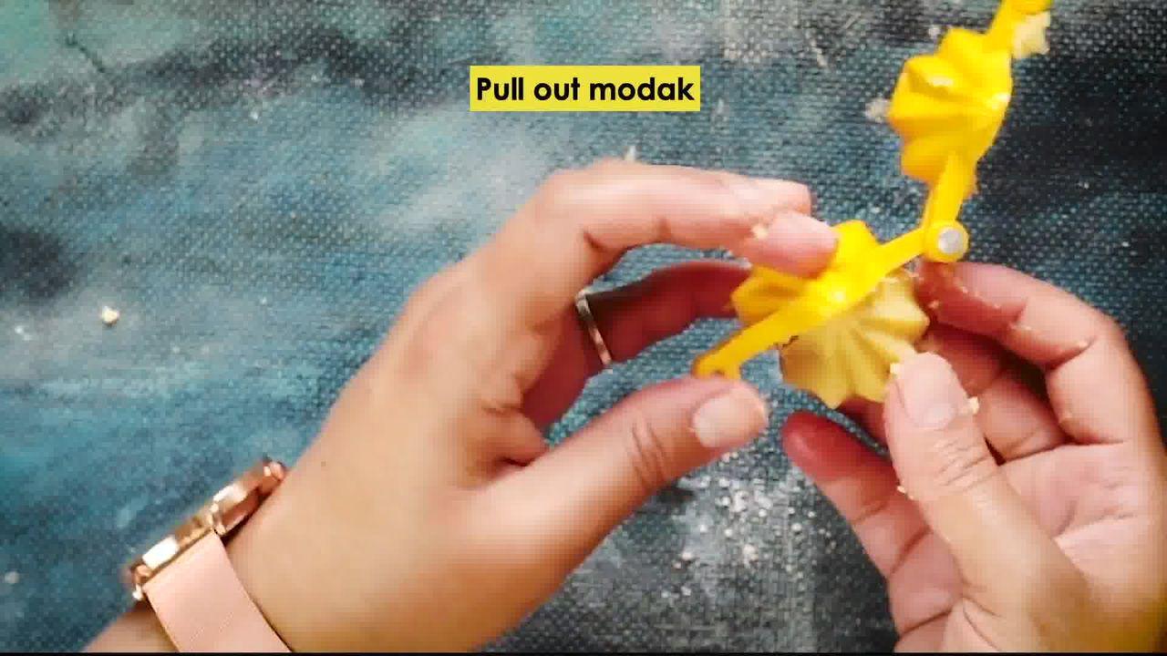 Image of the cooking step-2-7 for Instant Mawa Modak (Khoya Modak)