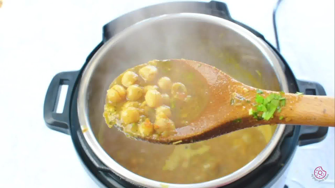 Image of the cooking step-1-19 for Instant Pot Chana Masala - Pressure Cooker Chole Masala