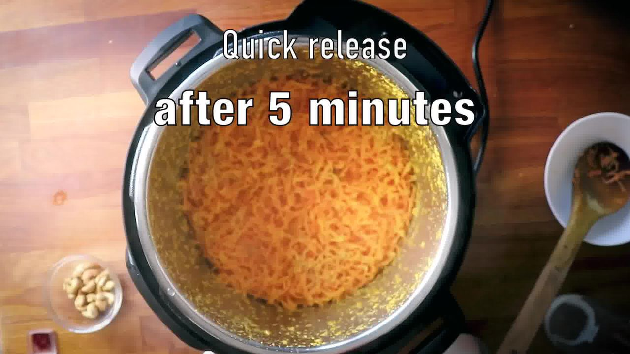 Image of the cooking step-1-13 for Instant Pot Gajar Halwa - Carrot Halwa Recipe