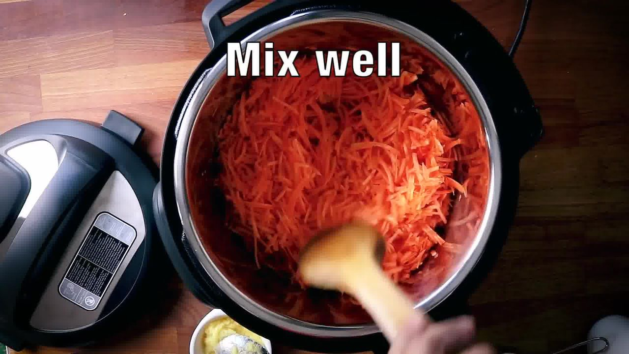 Image of the cooking step-1-6 for Instant Pot Gajar Halwa - Carrot Halwa Recipe