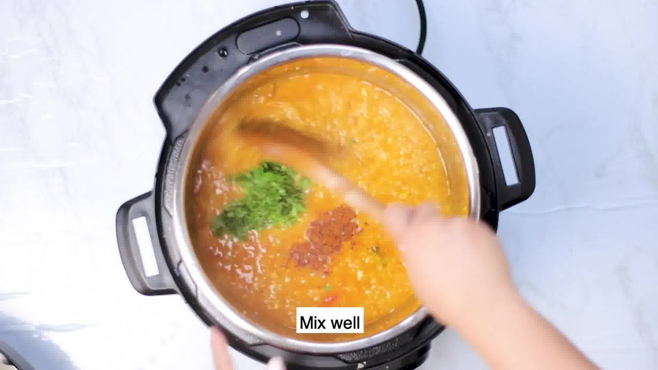 Image of the cooking step-2-15 for Masoor Dal - Red Lentils (Instant Pot, Pressure Cooker, Pan)