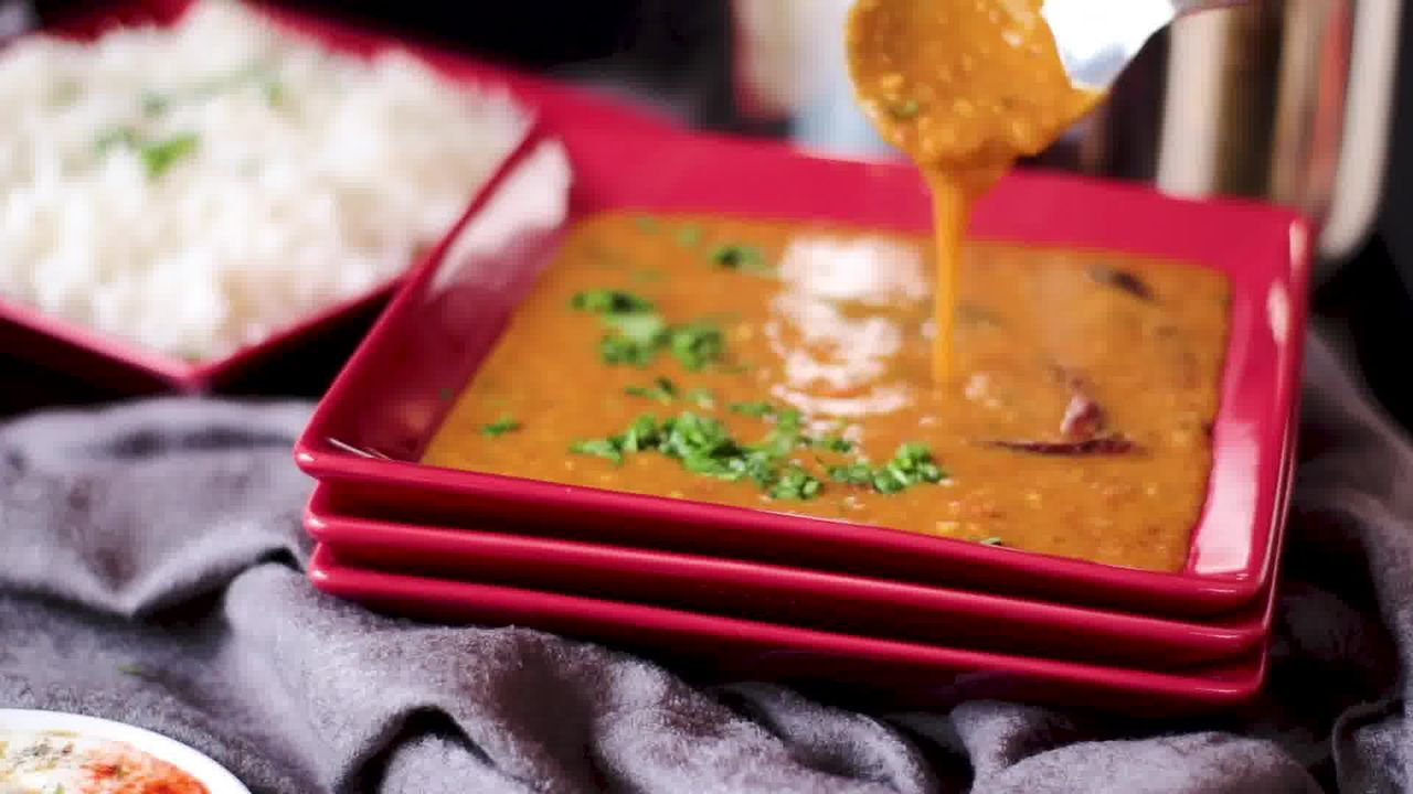 Image of the cooking step-2-17 for Masoor Dal - Red Lentils (Instant Pot, Pressure Cooker, Pan)