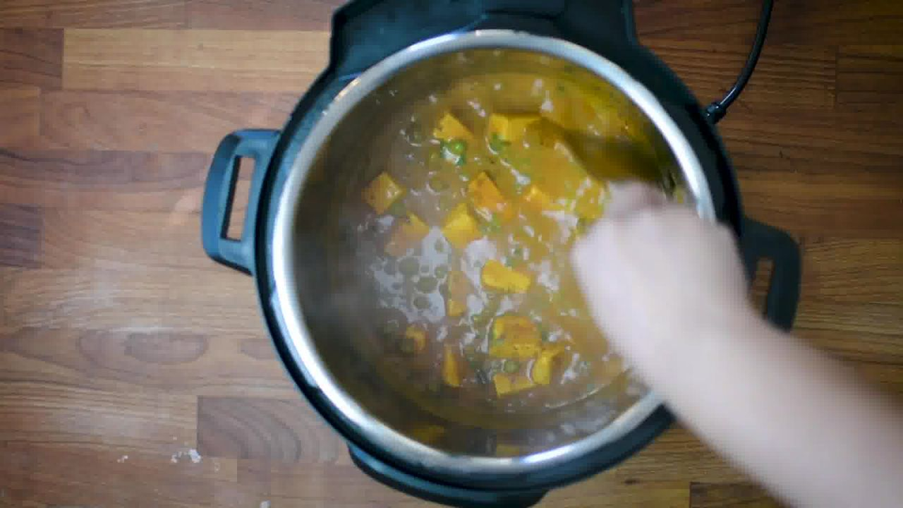 Image of the cooking step-1-14 for Instant Pot Matar Paneer - Pressure Cooker Peas and Paneer