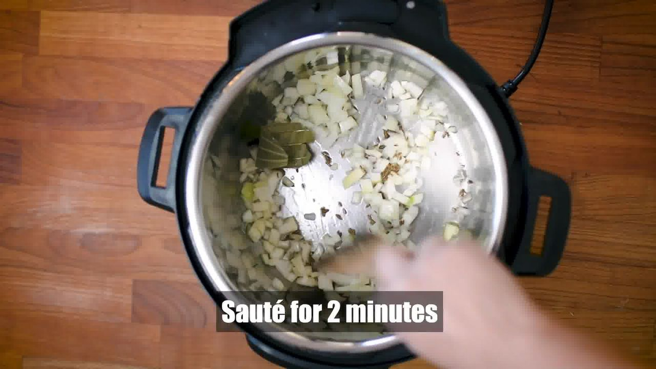 Image of the cooking step-1-3 for Instant Pot Matar Paneer - Pressure Cooker Peas and Paneer
