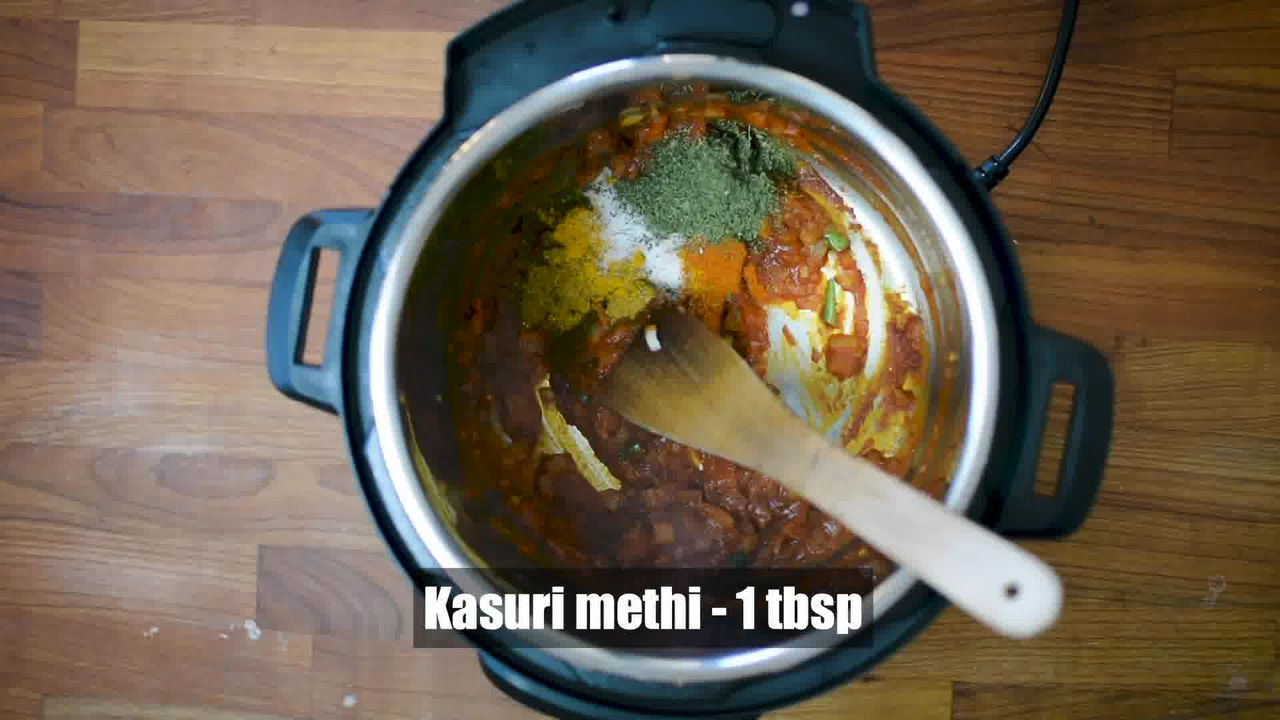 Image of the cooking step-1-7 for Instant Pot Matar Paneer - Pressure Cooker Peas and Paneer