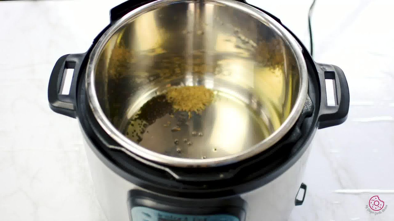 Image of the cooking step-1-3 for Instant Pot Whole Green Moong Dal - Mung Bean Curry