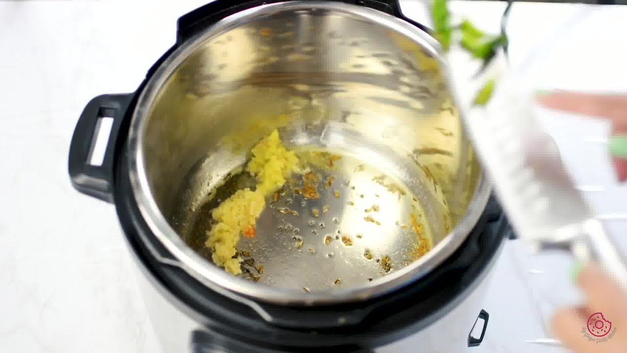 Image of the cooking step-1-5 for Instant Pot Whole Green Moong Dal - Mung Bean Curry