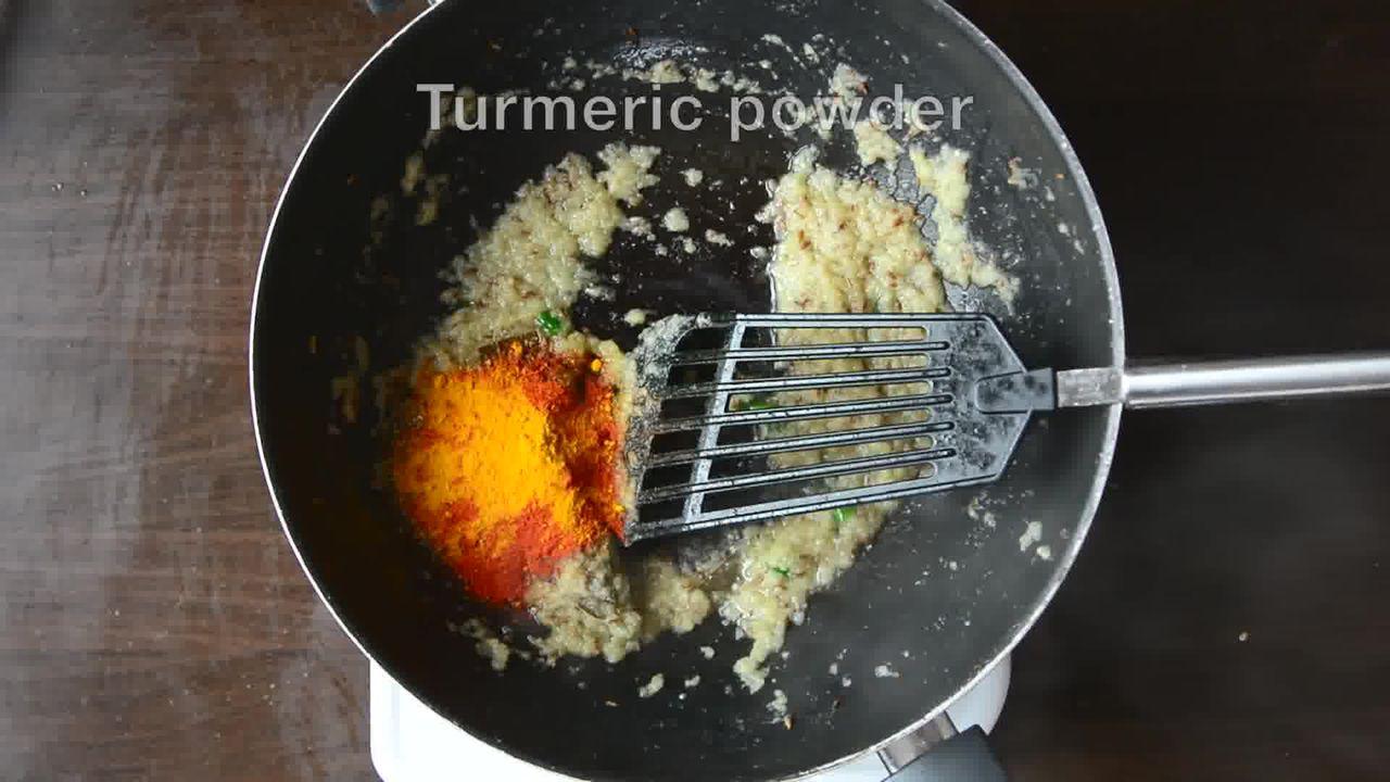 Image of the cooking step-1-12 for Jaipuri Aloo Pyaaz Ki Sabzi – Potato Onion Curry