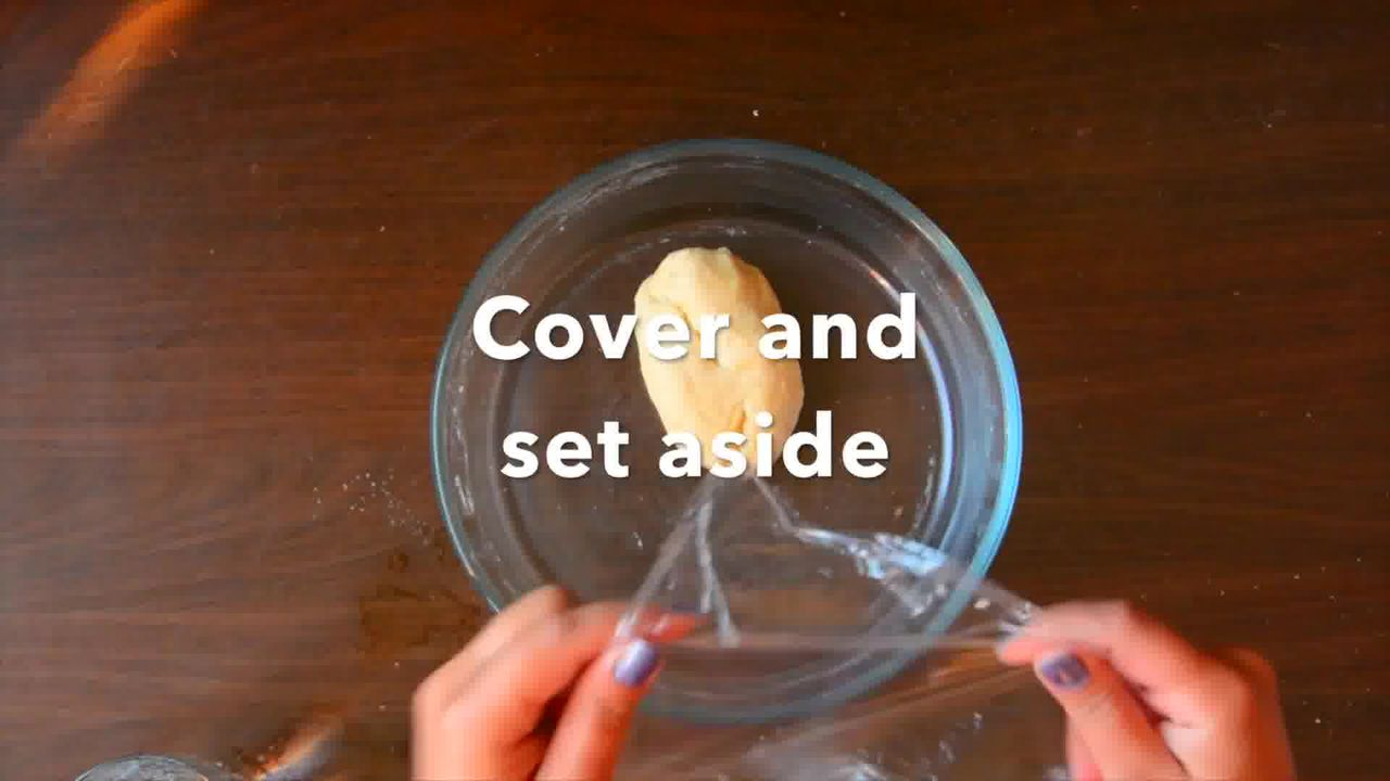 Image of the cooking step-2-3 for Rajasthani Mawa Kachori Recipe
