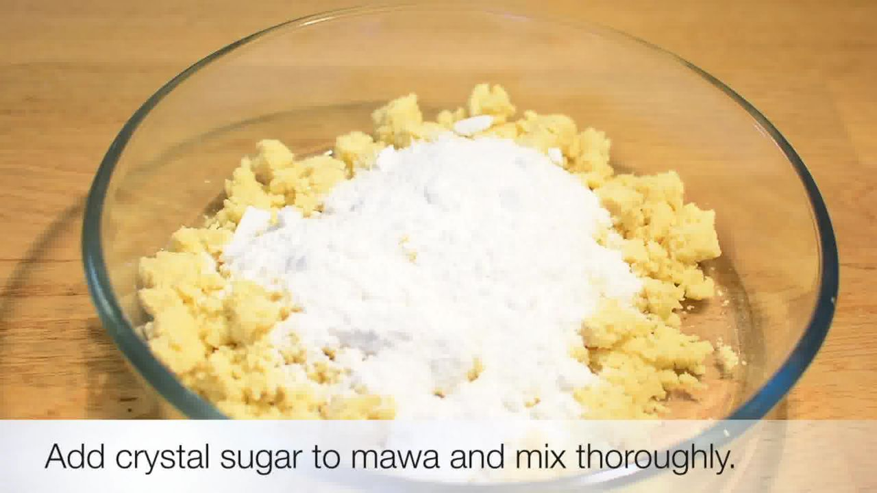Image of the cooking step-1-5 for Jaipuri Mishri Mawa Recipe
