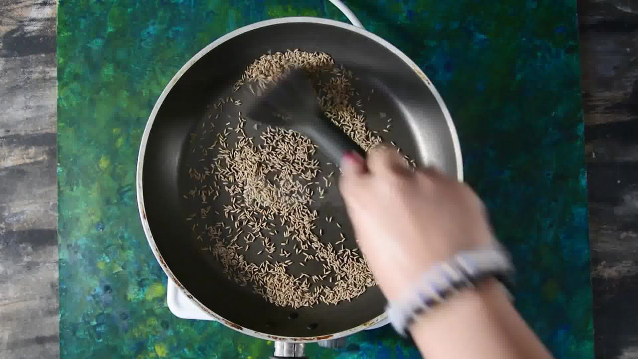 Image of the cooking step-1-1 for Jeera Biscuits - Eggless Roasted Cumin Cookies Recipe