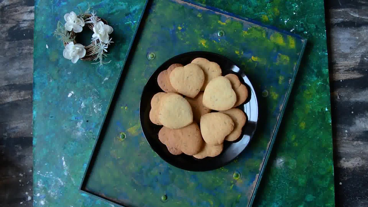 Image of the cooking step-1-15 for Jeera Biscuits - Eggless Roasted Cumin Cookies Recipe