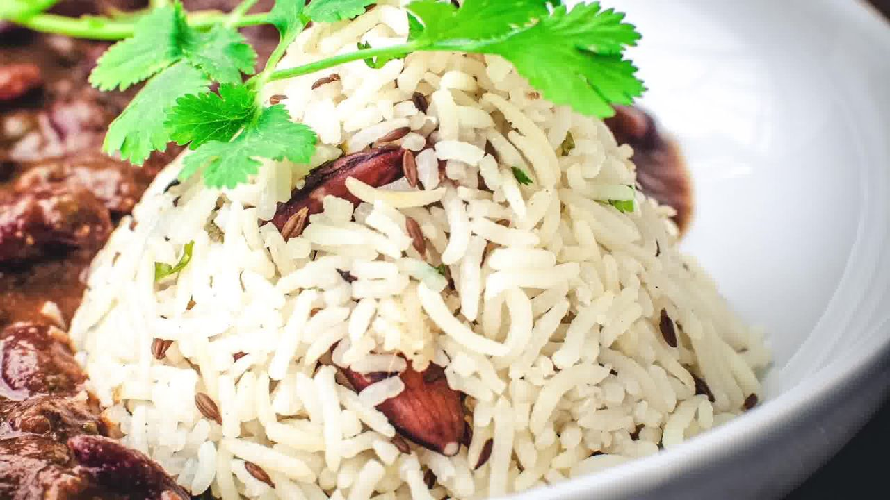 Image of the cooking step-1-9 for Jeera Rice - Indian Cumin Rice (Pan, Cooker, Instant Pot)