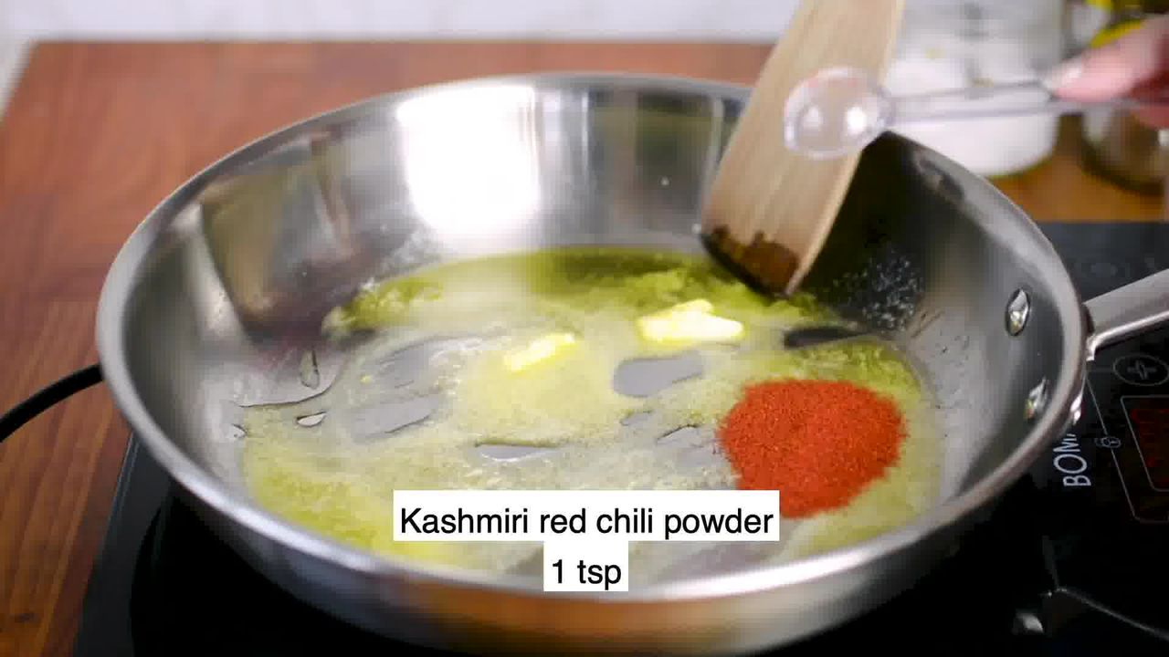 Image of the cooking step-3-2 for Kadai Paneer