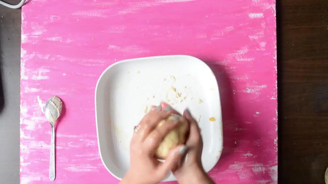 Image of the cooking step-1-10 for Kaju Katli Recipe - Kaju Burfi - How to Make Kaju Katli