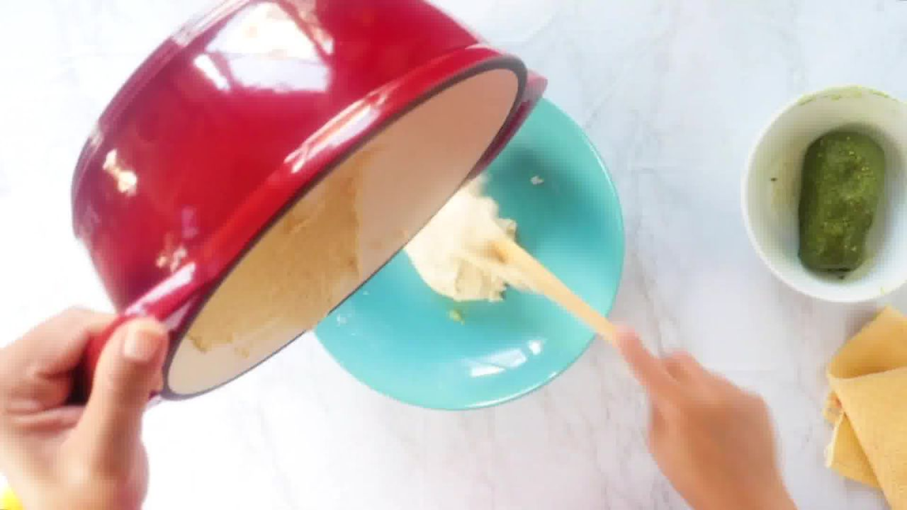 Image of the cooking step-5-5 for Kaju Pista Roll Recipe - Cashew Pistachio Fudge