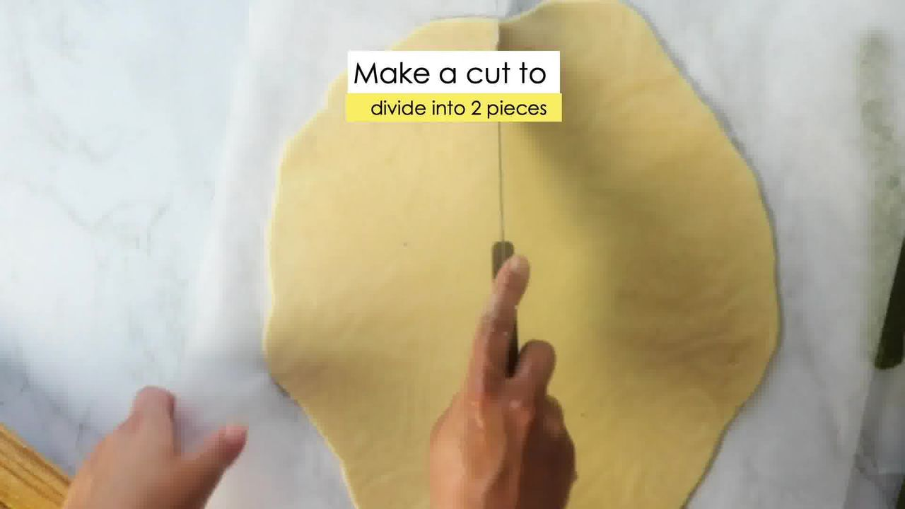 Image of the cooking step-6-2 for Kaju Pista Roll Recipe - Cashew Pistachio Fudge