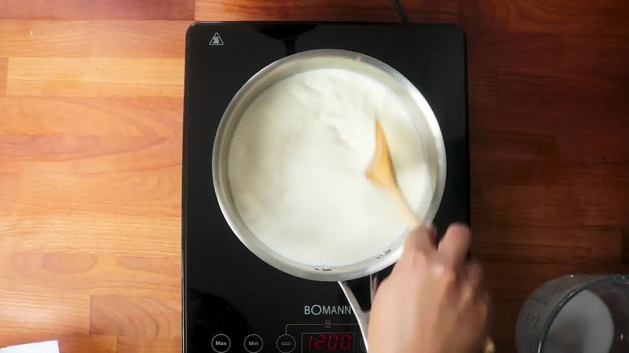 Image of the cooking step-2-1 for Best Kalakand Recipe