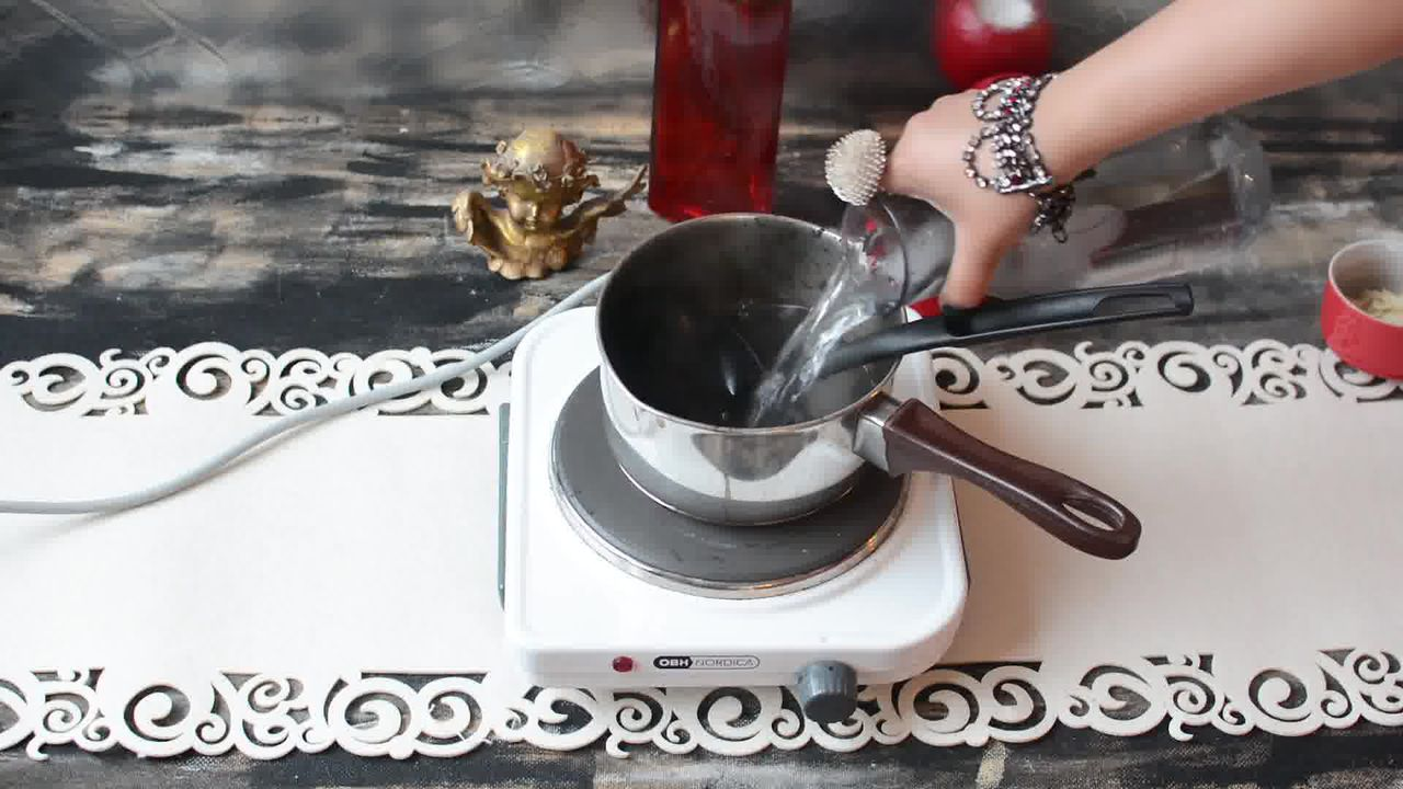 Image of the cooking step-1-3 for Kashmiri Pink Chai - Noon Chai (Video)