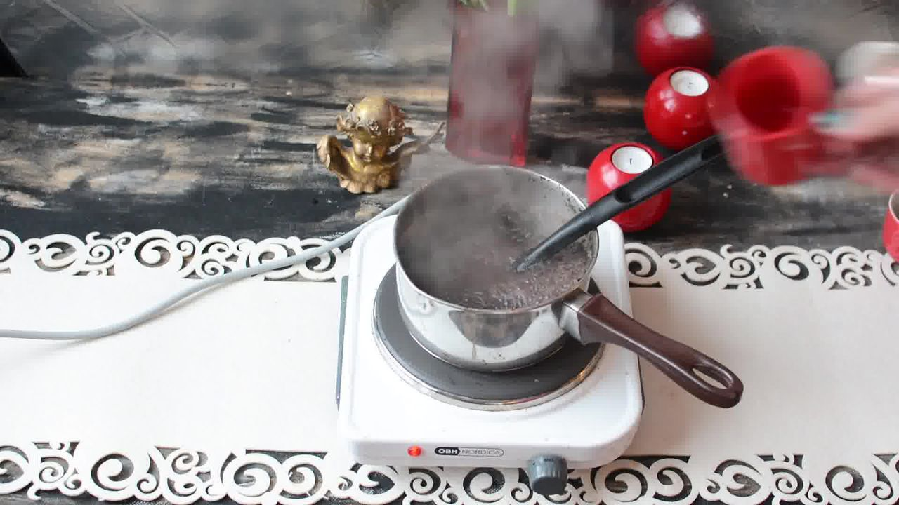 Image of the cooking step-1-5 for Kashmiri Pink Chai - Noon Chai (Video)
