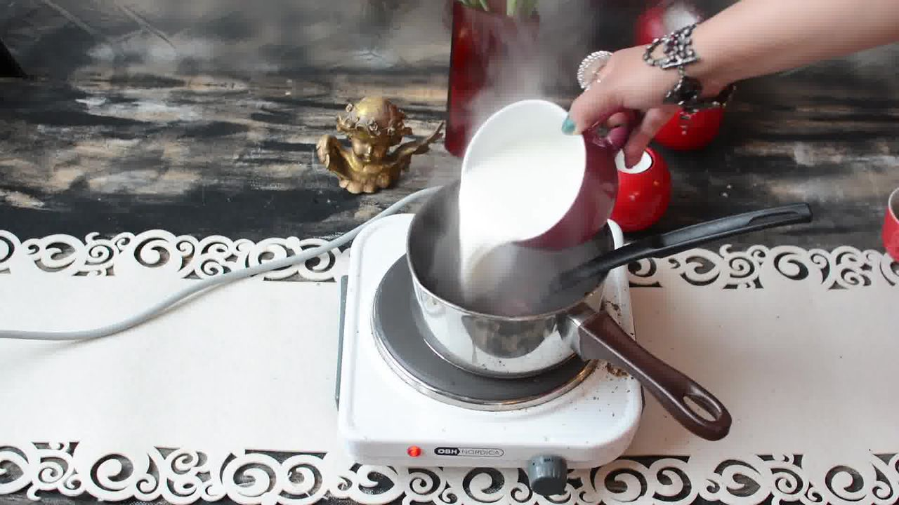 Image of the cooking step-1-7 for Kashmiri Pink Chai - Noon Chai (Video)