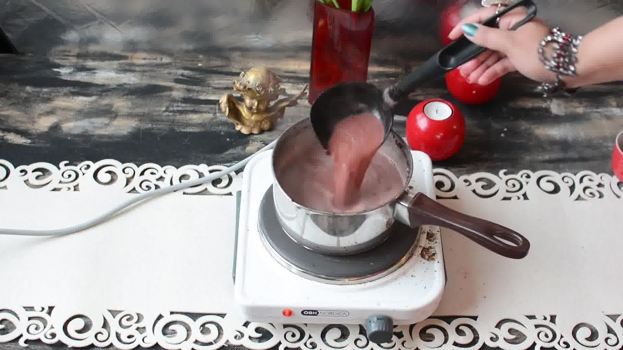 Image of the cooking step-1-8 for Kashmiri Pink Chai - Noon Chai (Video)