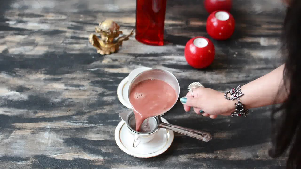 Image of the cooking step-1-9 for Kashmiri Pink Chai - Noon Chai (Video)