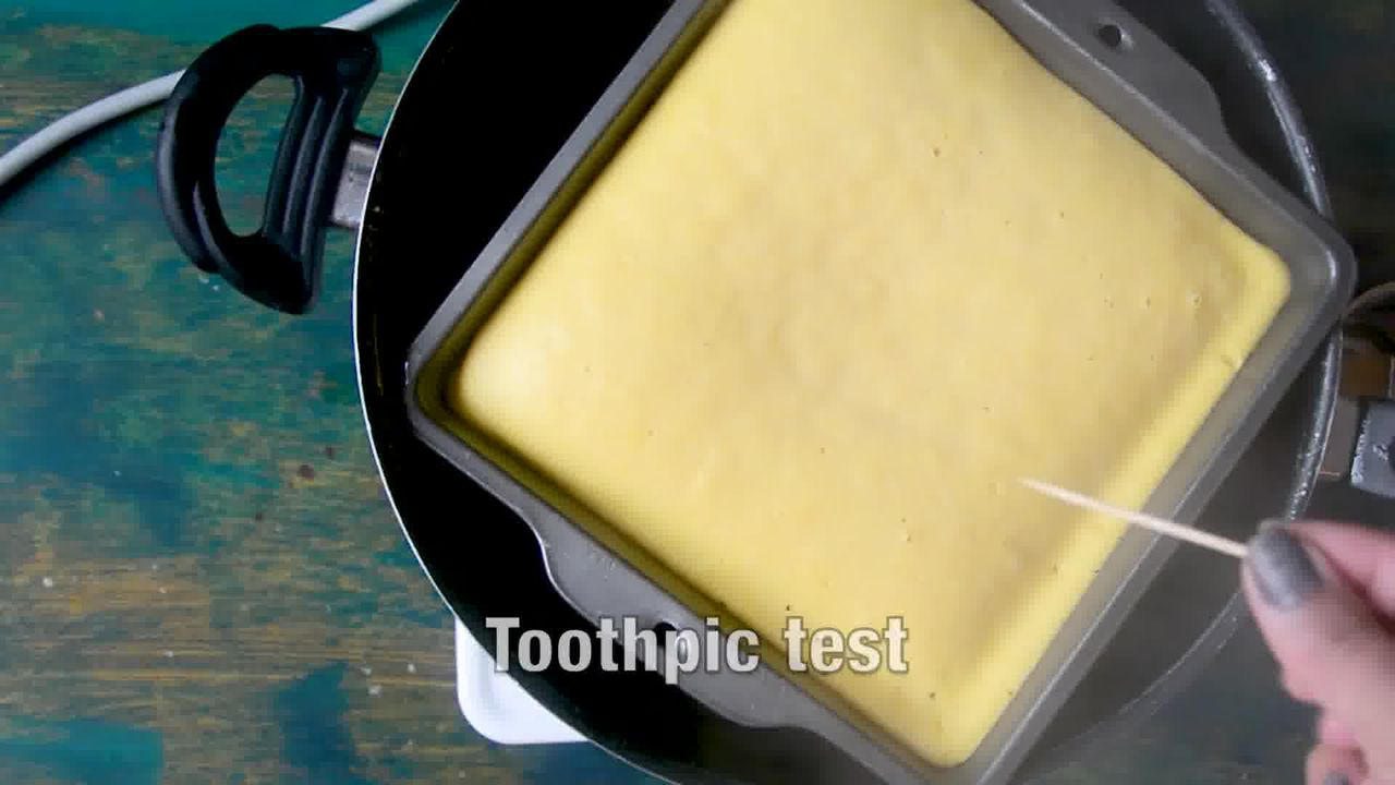 Image of the cooking step-1-14 for Khaman Dhokla Recipe - Instant Soft and Spongy Dhokla