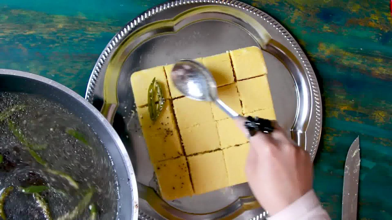 Image of the cooking step-3-1 for Khaman Dhokla Recipe - Instant Soft and Spongy Dhokla