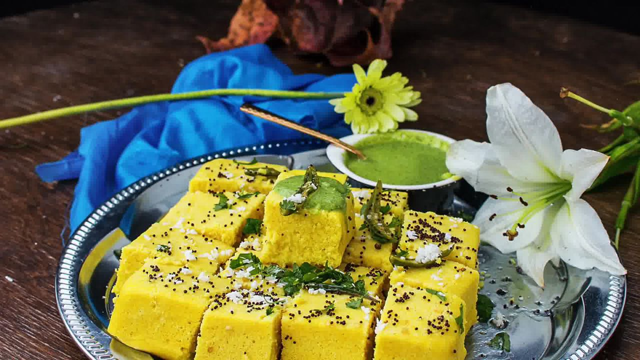 Image of the cooking step-3-3 for Khaman Dhokla Recipe - Instant Soft and Spongy Dhokla