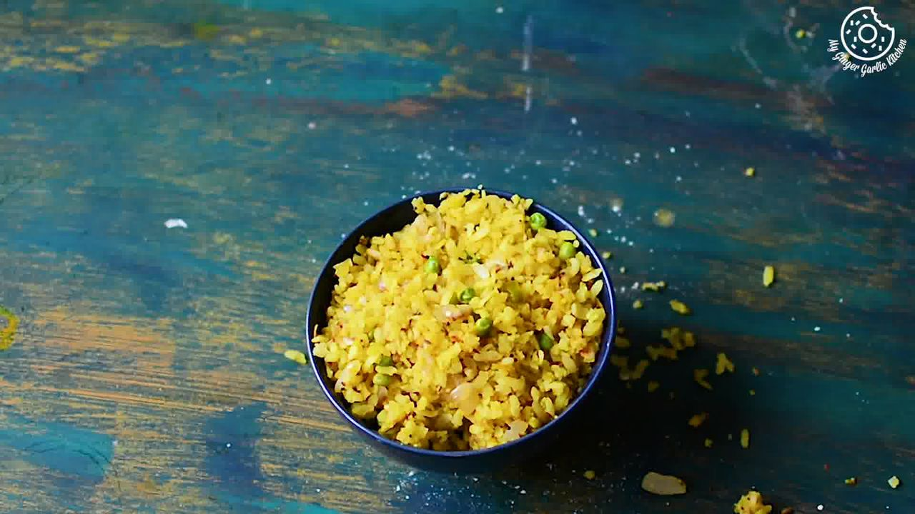 Image of the cooking step-1-13 for Indori Poha Recipe – Beaten Rice Fry Recipe