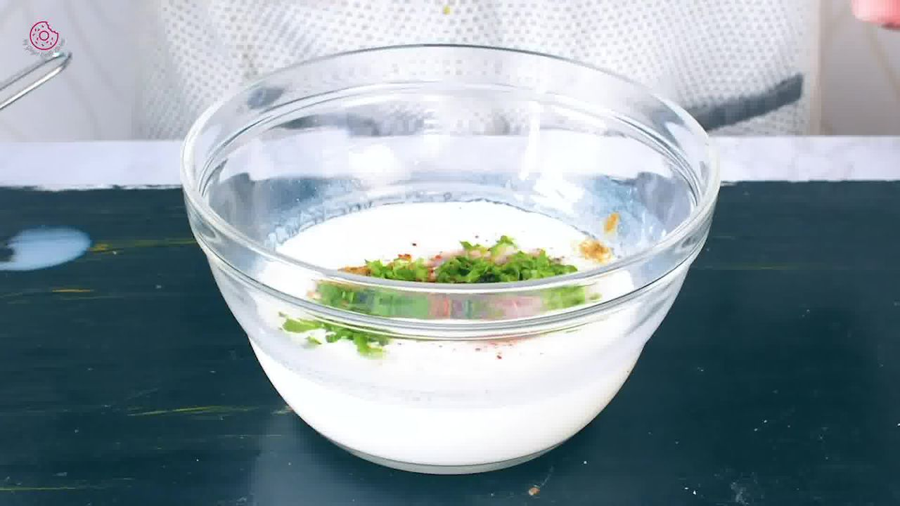 Image of the cooking step-1-2 for Kiwi Raita