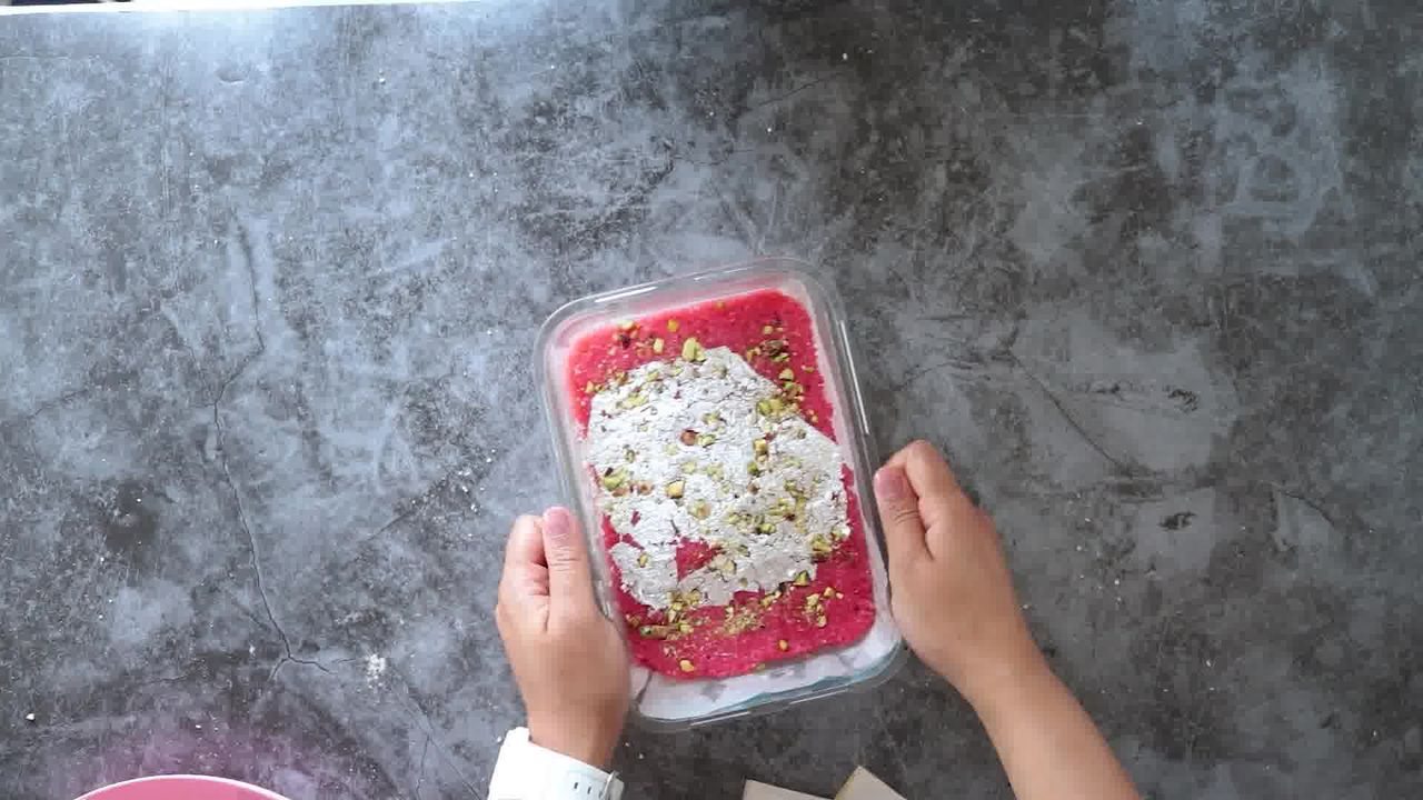 Image of the cooking step-1-19 for Layered Coconut Burfi
