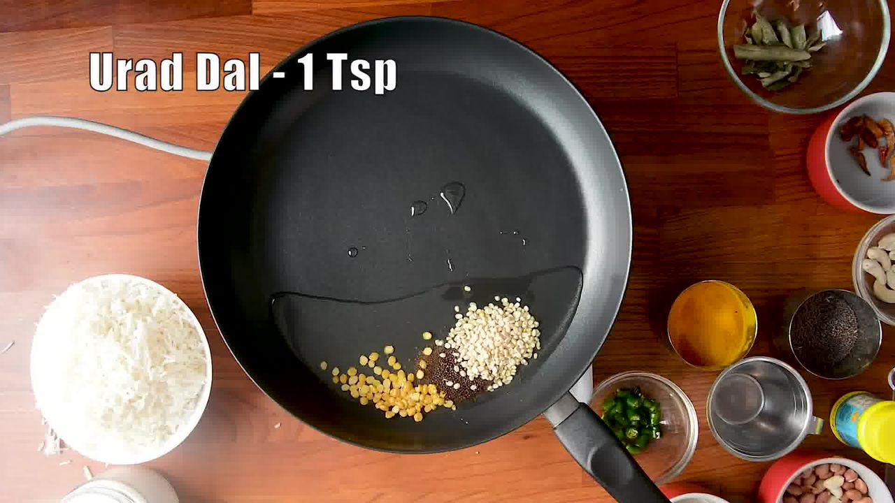 Image of the cooking step-1-2 for Lemon Rice Recipe - How To Make South Indian Lemon Rice