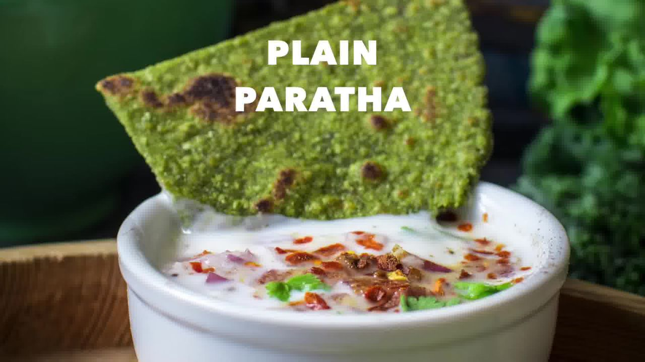 Image of the cooking step-4-5 for How To Make Healthy Oats Paratha - Oats Green Paratha