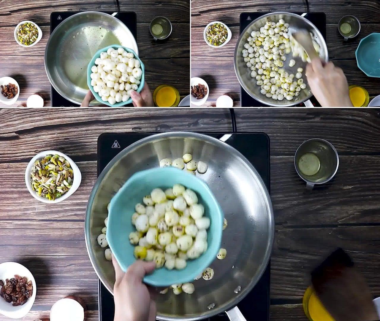 Image of the cooking step-1-2 for Makhana Kheer | Makhane Ki Kheer