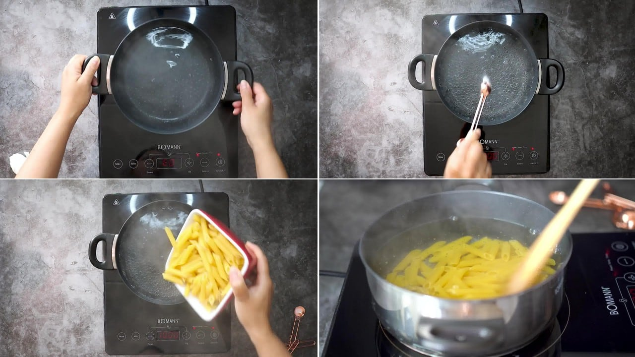 Image of the cooking step-1-1 for Makhani Pasta