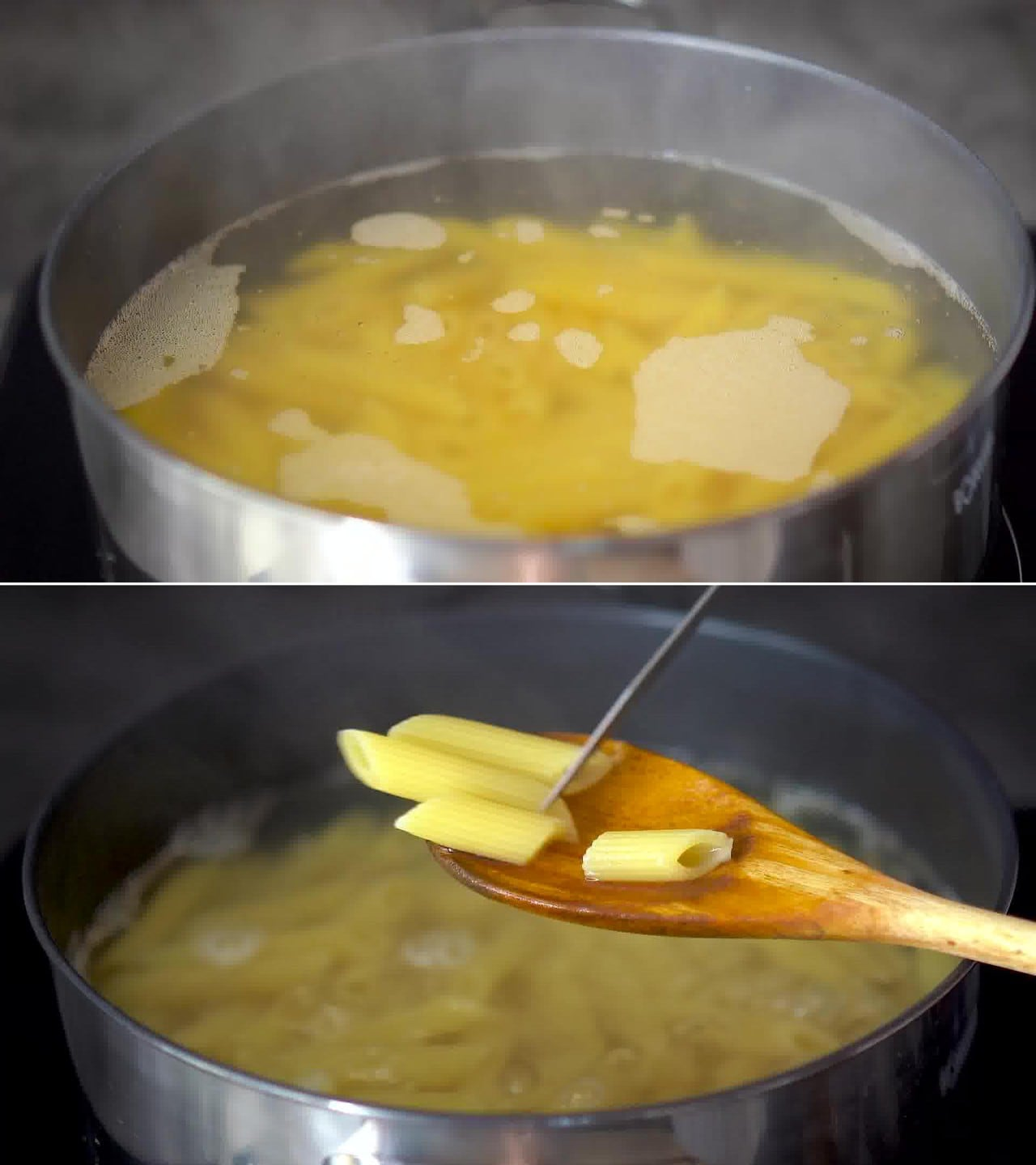 Image of the cooking step-1-2 for Makhani Pasta
