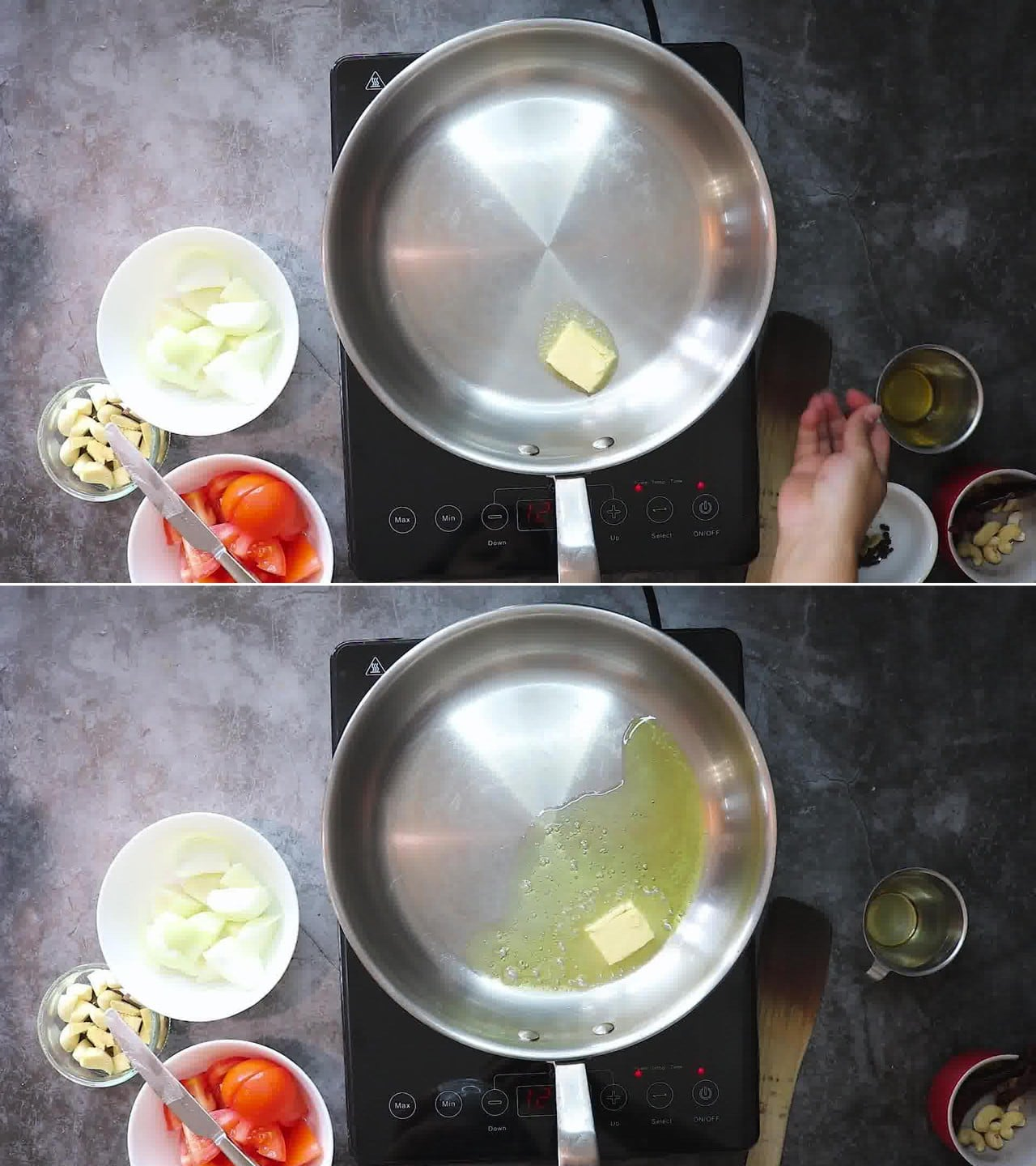 Image of the cooking step-2-1 for Makhani Pasta