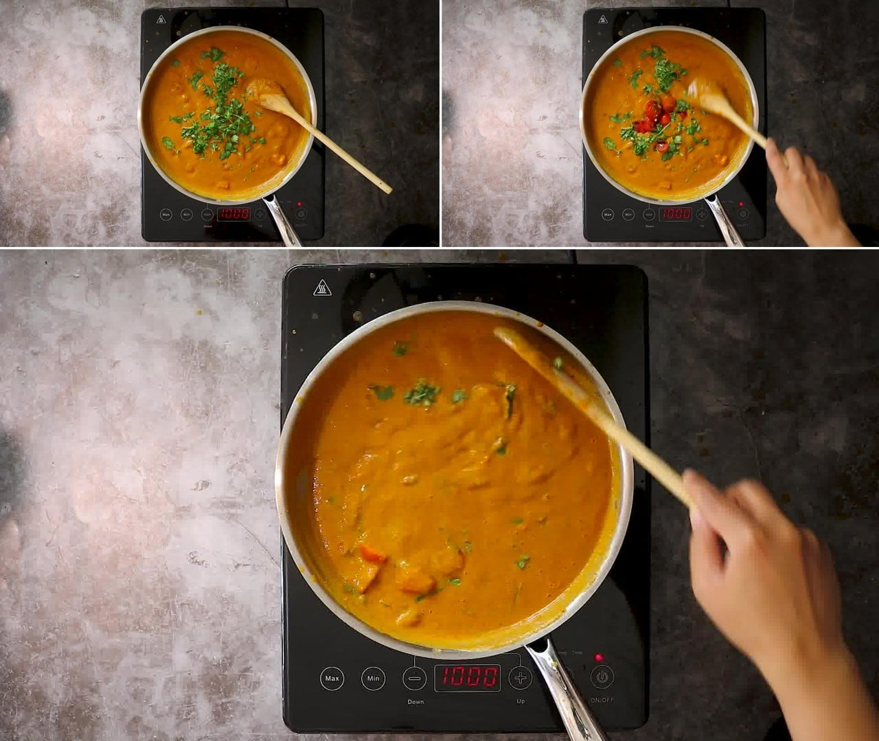 Image of the cooking step-2-10 for Makhani Pasta