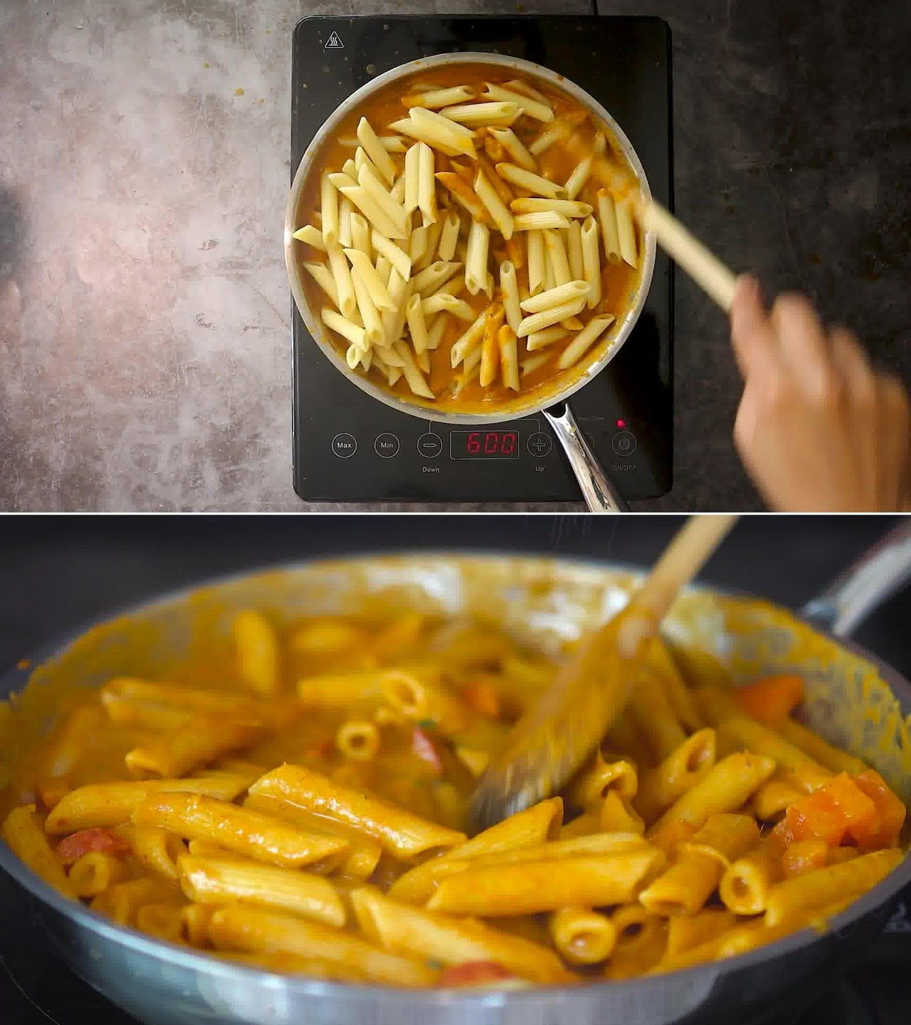 Image of the cooking step-2-11 for Makhani Pasta