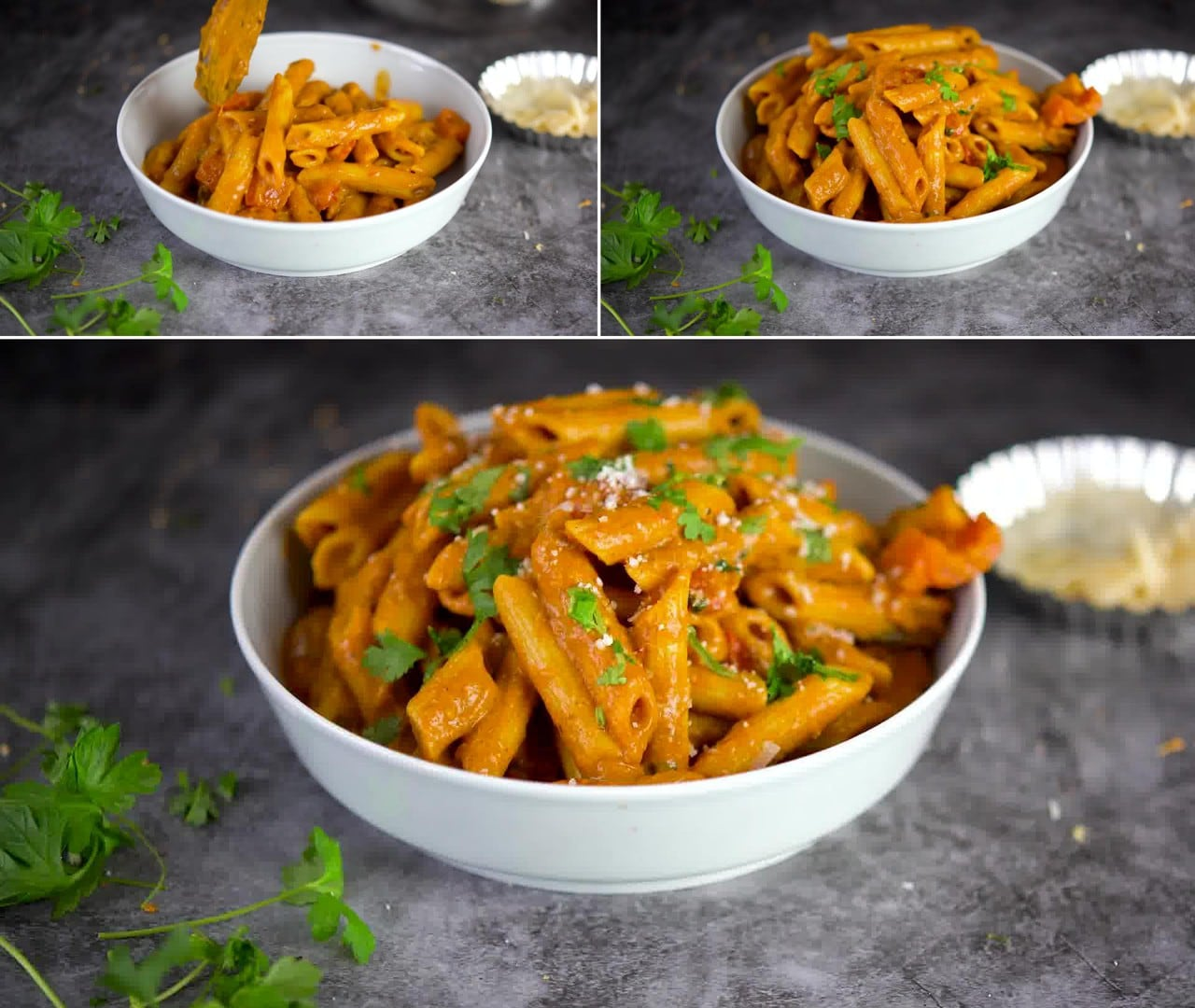 Image of the cooking step-2-12 for Makhani Pasta